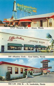 Miami Coral Gables Ft. Lauderdale FL New England Oyster House Restaurants PC