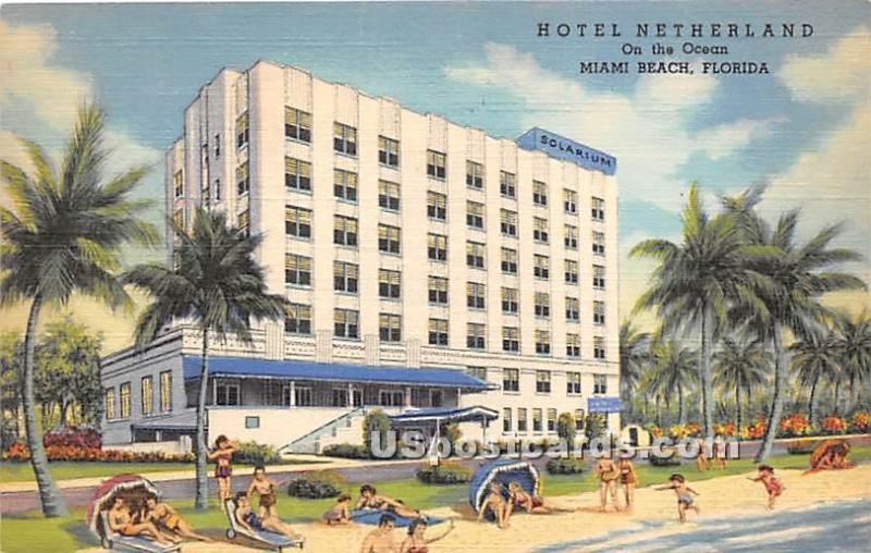 Hotel Netherland Miami Beach Fl Unused
