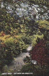 BATTLE ABBEY, Sussex, England, 1900-1910's; Spot Where King Harold Fell