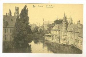 Quia Du Rosaire, Rosary Quay, Bruges (West Flanders), Belgium, 1900-1910s