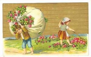 Children rack up flowers, 00-10s