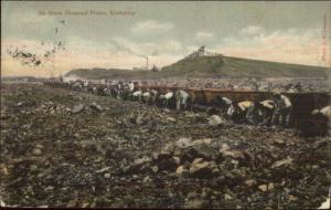 Kimberley South Africa De Beers Diamond Floors Slave Labor? Postcard 1906