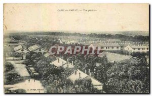 Old Postcard Camp de Mailly General view Militaria
