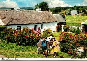 Ireland Typical Farm House