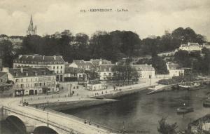 CPA  HENNEBONT.- le port  (144962)
