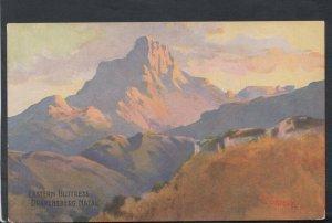 South Africa Postcard - Eastern Buttress, Drakensberg, Natal   T7128