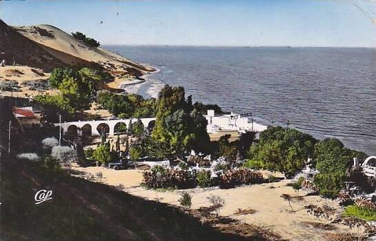 Tunisia Gammarth La Plage et les Dunes 1956 Photo