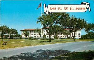 Fort Sill Oklahoma~McNair Hall~Administrative Building of the Artllery~1950's