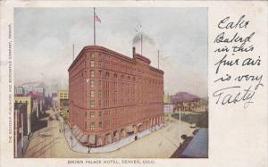 Colorado Denver Brown Palace Hotel 1906
