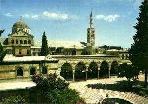 syria, DAMASCUS DAMAS, Place El Azem Square (1970s)