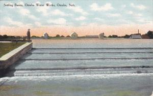 Nebraska Omaha Settling Basins Omaha Water Works Curteich