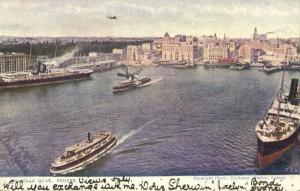 australia, SYDNEY, Circular Quay, Steamers (1905)