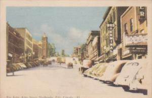 Canada Sherbrooke Rue King King Street 1940