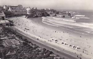 France Biarritz La grande plage les jardins et les casinos Photo