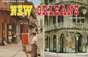 Louisiana New Orleans Greetings From New Orleans 1984