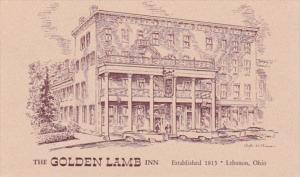 Ohio Lebanon The Golden Lamb Restaurant