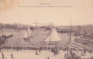 France Marseille Vue Generale Du Vieux Port