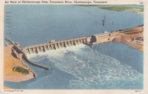CHATTANOOGA, Tennessee , 1930-40s ; Chickamauga Dam
