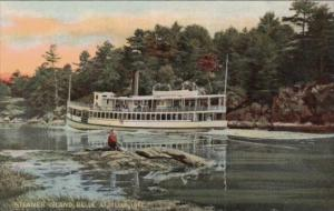 Steamer Island Belle At Hell Gate