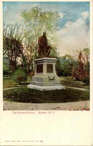 NY - Albany. The Burns Statue