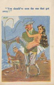 Comic Postcard Garland, Rudolf & Co. W126, Seaside Joke, Humour KK0