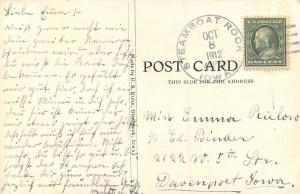 Steamboat Rock IA~Congregational Church~Methodist Episcopal~German Baptist~1912