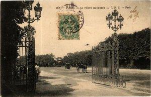 CPA PARIS 16e La Porte Dauphine. (500071)