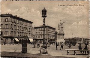 CPA LIVORNO Piazza Carlo Alberto . ITALY (467884)