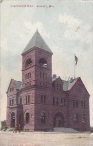 Wisconsin Ashland Government Building 1909