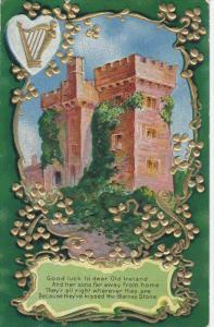 SAINT-PATRICK´S DAY; Blarney Castle, Poem, PU-1910