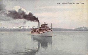Steamer Tahoe Ferry Boats Ship 1922