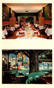 Kentucky Louisville Henry Clay Hotel Beaux Arts Lounge and Tropical Dining Room