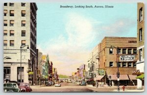 Aurora Illinois~Broadway South~Northern IL Finance Corp~Three Sisters~1948