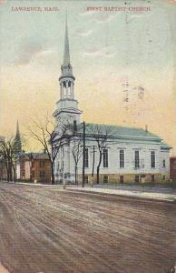 Baptist Church , Lawrence , Massachusetts , PU-1907
