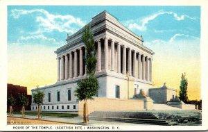 Washington D C House Of The Temple Scottish Rite Curteich