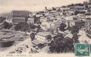 BOUGIE, Vue Generale, Algeria, PU-1912
