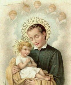 1890s Dresden Religious German St. Stanislaus Kostka Jesus  P222