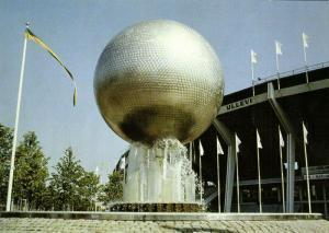 sweden, GÖTEBORG, Ullevi Stadion, Kulan i Luften (1980s) Stadium Postcard