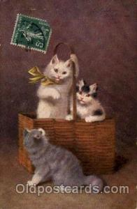 Series 3047 Artist Sperlich Cat, Cats Post Card Post Card Series 3047 Series ...