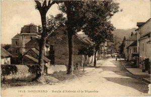 CPA Mouchard- Route d'Arbois et le Vignoble FRANCE- (1044360)