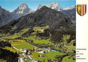 Hinterstoder mit Gr Priel und Spitzmauer Gesamtansicht Mountain
