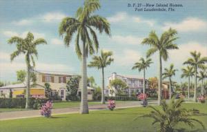 Florida Fort Lauderdale New Island Homes Curteich