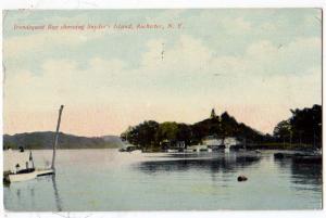 Snyder's Island, Irondequoit Bay, Rochester NY