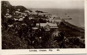 fiji islands, LEVUKA, Ovalan (1930s) F.W. Caine RPPC 45