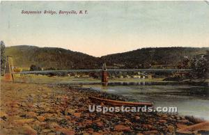 Suspension Bridge Barryville NY 1910