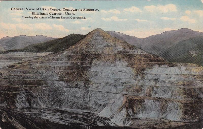 Bingham Canyon, Utah, 00-10s ; Utah Copper Co. Mine