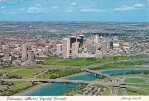 Canada Aerial View Edmonton Alberta