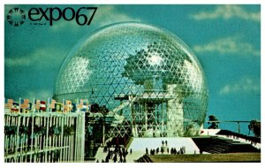 Canada Montral Expo 67    Pavilion  of the United States