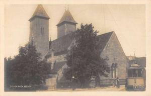 Bergen Norway St Marys Church Real Photo Antique Postcard K102865