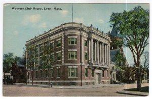 Lynn, Mass, Womens Club House